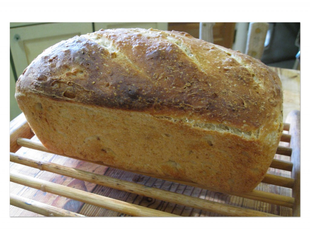Daddy Made it: On Baking Bread & other matters of importance